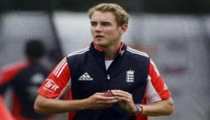 'Injured' Broad doubtful for first Proteas Test