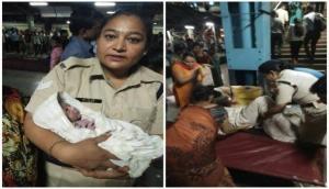मुंबई: रेलवे स्टेशन पर रेलवे पुलिस की मदद से महिला ने दिया बच्चे को जन्म