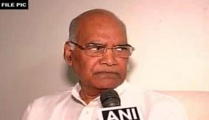 Kovind to meet J-K ruling coalition's MLAs