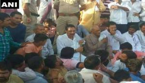 राजस्थान: आरक्षण के लिए जाटों का आंदोलन, भरतपुर में रेलवे ट्रैक जाम