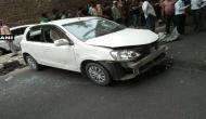 दिल्ली: बेकाबू कार ने फुटपाथ पर 4 लोगों को कुचला, 2 की मौत