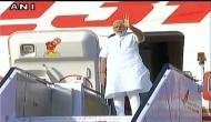 PM Modi arrives in Portugal on first leg of three-nation tour
