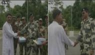 India, Bangladesh border guards exchange Eid greetings at Phulbari