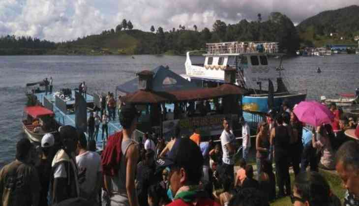Party Boat Filled With Tourists Capsizes Near Medellin, Colombia