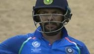 Superstition? Yuvraj Singh wears Champions Trophy jersey against Windies