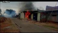 घर के बाहर मरी गाय मिलने पर मुस्लिम की पिटाई, मकान में लगाई आग