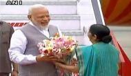 PM Modi arrives in Delhi following successful three-nation tour