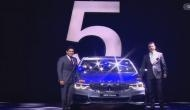 BMW 5 Series: मास्टर ब्लास्टर ने हटाया भविष्य की कार से पर्दा