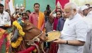 बचपन में गाय की कहानी का जिक्र कर भावुक हुए पीएम मोदी