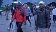 Amarnath yatra suspended due to heavy rains, landslides; Jammu-Srinagar highway closed