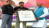 Vijay Goel felicitates Kidambi Srikanth, Pullela Gopichand