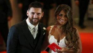 Messi ties the knot with long-time girlfriend Roccuzzo