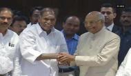 Ram Nath Kovind meets former Puducherry chief minister in Chennai