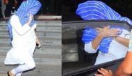 जानें क्यों मीडिया को देखकर सैफ़ की बेटी सारा ने छिपा लिया चेहरा