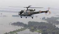 आईएएफ के लापता हेलीकॉप्टर का मलबा दिखा