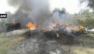 एयरफोर्स का MI-23 हेलीकॉप्टर हुआ क्रैश, दोनों पायलट सुरक्षित