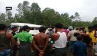 कार और ट्रक में हुई भिड़ंत, हादसे में एक ही परिवार के 5 लोगों की मौत