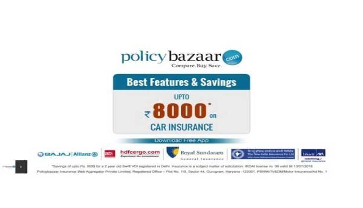 policybazaar launches a new caign for car insurance