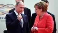 Watch: Angela Merkel 'eye-rolling' at Vladimir Putin takes social media by storm
