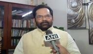 Will not bother anyone with Kashmir issue: Mukhtar Abbas Naqvi on mediation between India and Pakistan