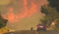 Hundreds, including children, evacuated as wildfires ablaze California