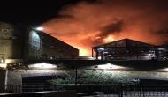 लंदन: कैमडेन लॉक मार्केट में लगी भीषण आग