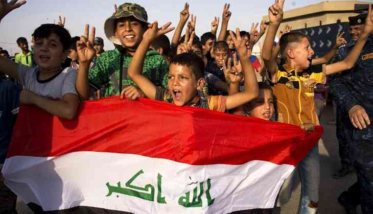 In photos: Iraq celebrates as Mosul is liberated and IS withdraws