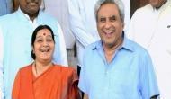 सुषमा स्वराज की तनख़्वाह पूछने पर पति स्वराज कौशल की हाज़िरजवाबी