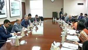 Sushma Swaraj, Yemen's Deputy PM hold delegation level talks