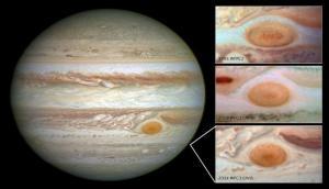 NASA's Juno probe brushes past Jupiter's Great Red Spot