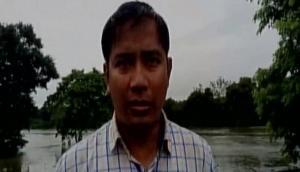 Flood swamp Assam's Kaziranga National Park