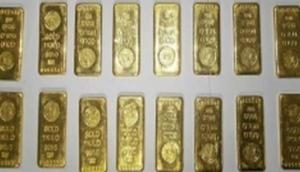 Woman arrested with 1.29 kg gold at Hyderabad airport