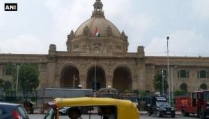 Explosive found in UP Assembly: SP, BJP lock horns over security in state