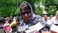 महबूबा: संवैधानिक दर्जा बदला, तो कश्मीर में तिरंगे की हिफाजत कोई नहीं करेगा
