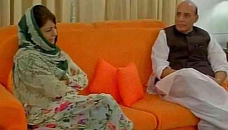 Mehbooba Mufti to meet Rajnath Singh in Delhi