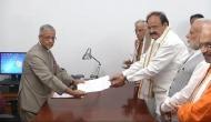 Venkaiah Naidu files nomination for Vice-Presidential election