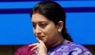 Smriti Irani calls on Malayalam writer MK Sanoo