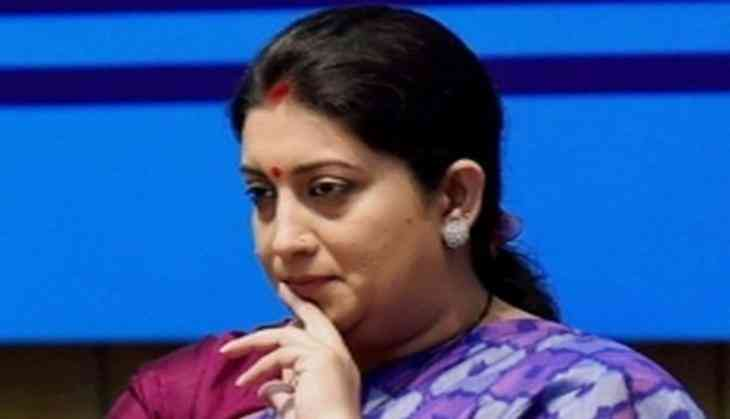 Smriti Irani Gets Additional Charge Of I&B Ministry