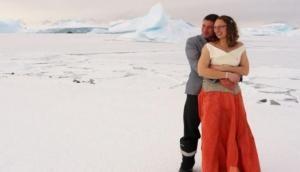 अंटार्कटिका में शून्य से भी कम तापमान में हुई ऐतिहासिक शादी