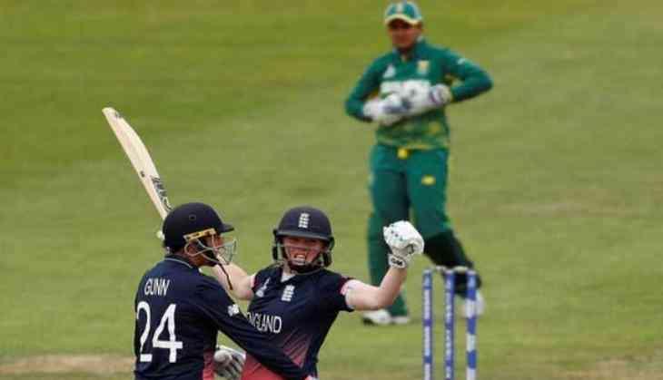 England Women reach World Cup semi-final despite pitch concerns