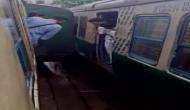 सियालदह रेलवे स्टेशन पर दीवार से टकराई ट्रेन