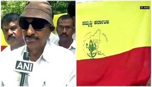 Pro-Kannada activists demand existence of old flag, condemn setting up of committee