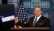 Trump says Spicer suffered 'tremendous abuse' by 'fake media'