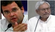 Congress accuses BJP, Nitish of opportunism, treachery