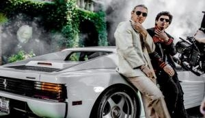 Here is the first look of Diplo, SRK's music video