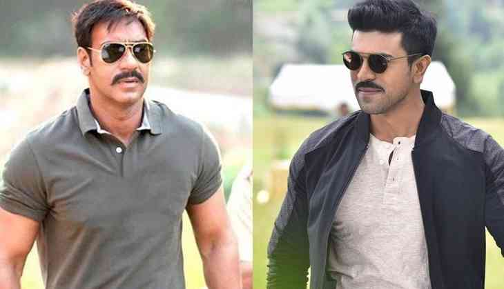 Dhruva ajay devgn to dub for ram charan in the hindi dubbed pic ajay devgn in singham ram charan in dhruva thecheapjerseys Choice Image