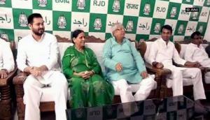 LJP MP Prince Raj calls on Lalu Yadav's family