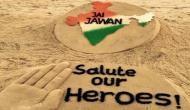 Kargil Vijay Diwas: Sand Artist Sudarsan Pattnaik pays tribute to Kargil heroes in a unique way