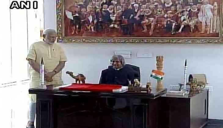 Rameswaram: Feel Jayalalithaa's absence at Kalam memorial function, says PM