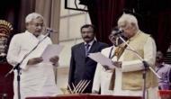 बिहार में 'नीतीश-मोदी' सरकार, छठी बार CM बने 'सुशासन बाबू'